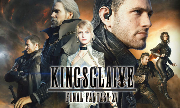 kingsglaive ffxv final fantasy xv
