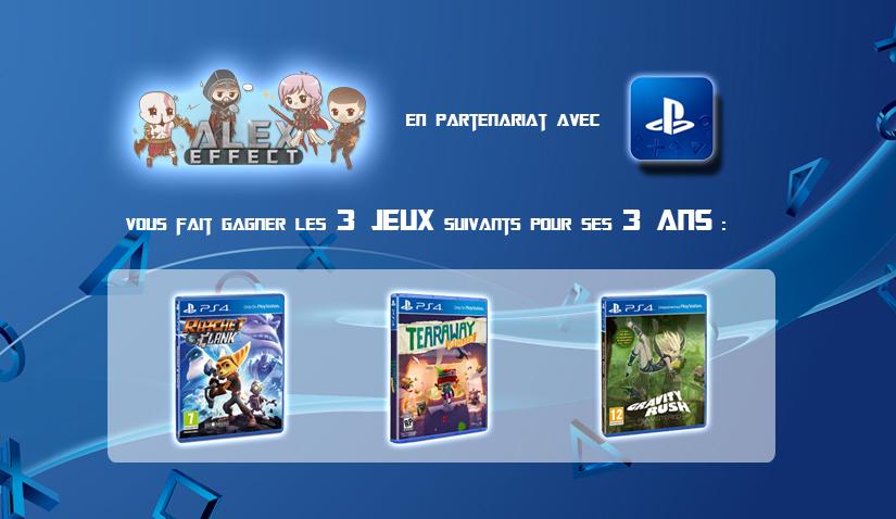 Concours 3 ans - PS4