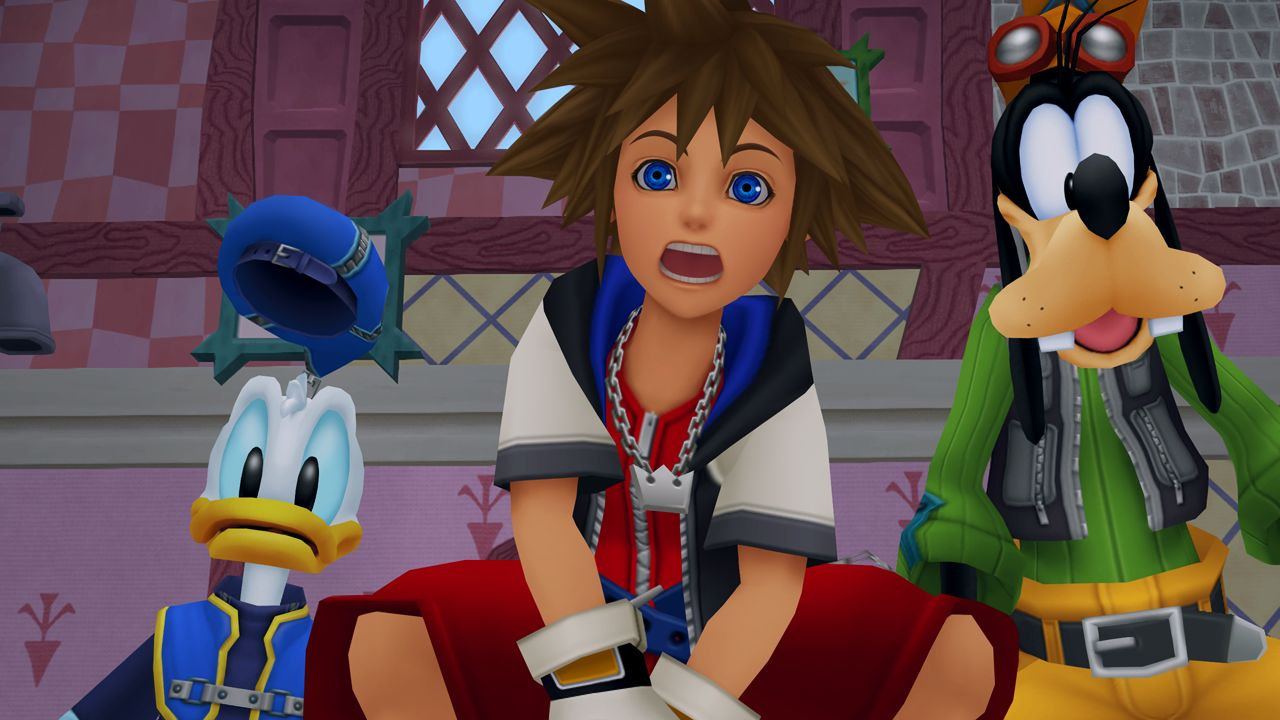 kingdom hearts sora dingo donald