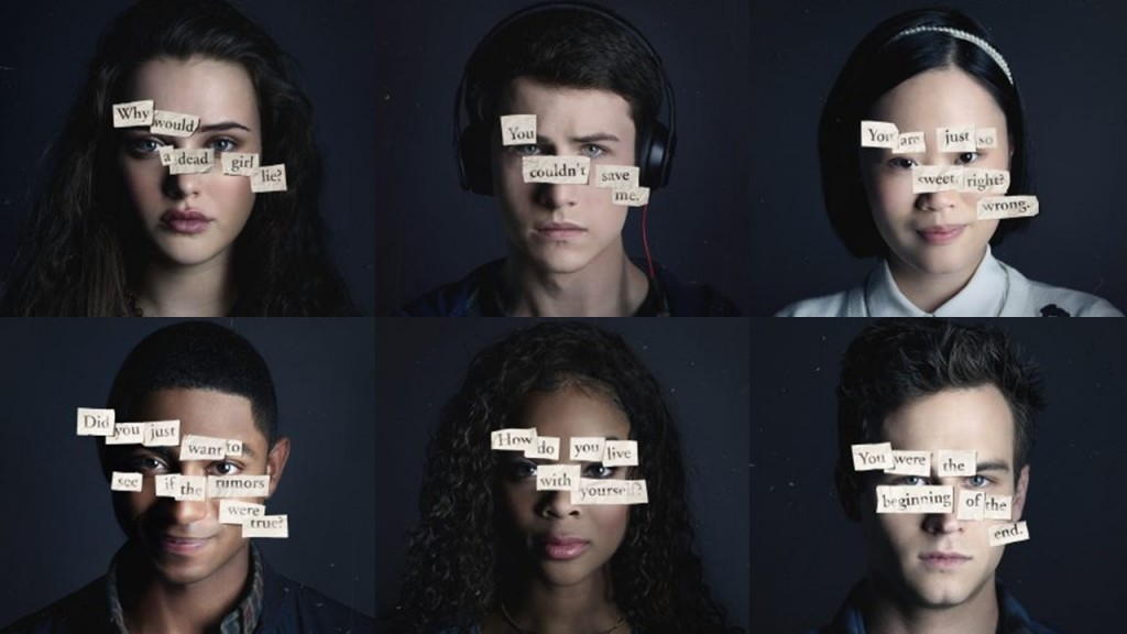 13 reasons why personnages