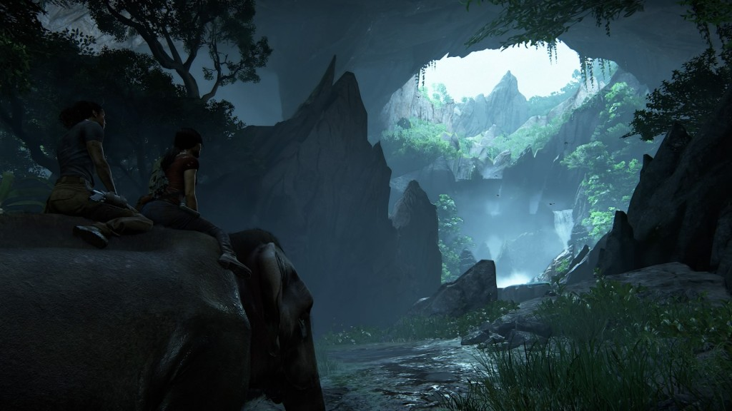 uncharted lost legacy elephant