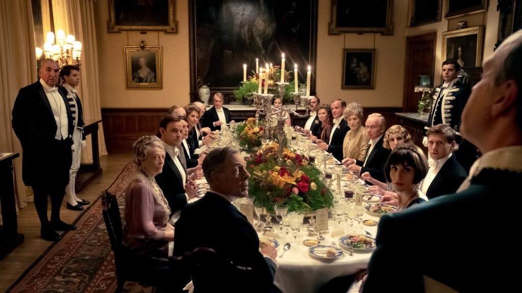 downton abbey famille royale roi angleterre